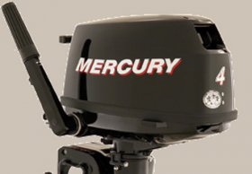 Mercury 4.0 Fourstroke Outboard