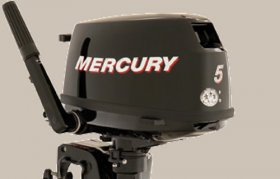Mercury 5.0 Fourstroke Outboard