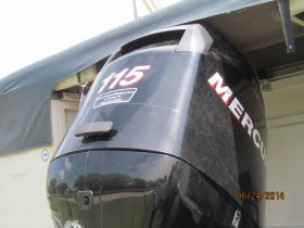 Used 2012  powered Mercury Boat for sale