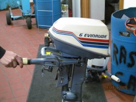 Pre-Owned 1977 Evinrude 6 hp Outboard  Boat for sale