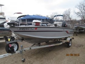 Pre-Owned 1989 Alumacraft Dominator 16SC for sale