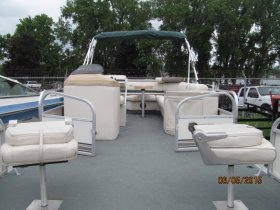 1999 Monark Fish & Fun PontoonPower Boat for sale