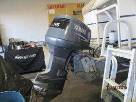 2001 Yamaha F115TLRA for sale