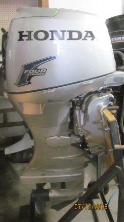 2004 Honda 50 Tiller