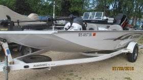 Pre-owned AlumaCraft Invader 185