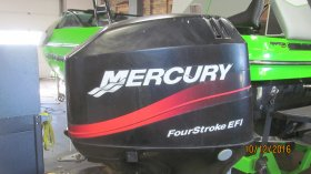 2002 Mercury 50ELPT 4 Stroke